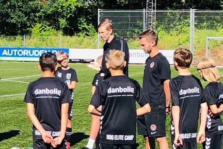 En fodboldskole og en elitecamp fyldte banerne i Haldum-Hinnerup.