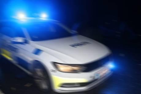 Mand kørte vanvidskørsel i det centrale Randers. Foto: Rolf Larsen