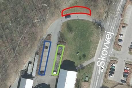 Antallet af parkeringspladser i området vil være begrænset, mens der laves om.