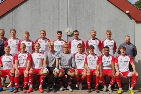 Søften GF´s Jyllandsserie hold møder 3. august Thisted FC fra 2. division på hjemmebane. Pressefoto