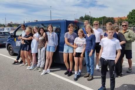 Syddjurs Ungdomsskole har brugt en del af sommerferien på en tur til Bornholm.