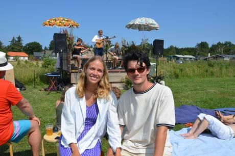 Solen skinnede på alle måder over den første Ved Vandet Festival, der i lørdags blev afviklet ved Skødshoved Badehotel.