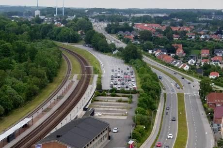 Især parkeringsområdet ved Skanderborg Station har været ramt af mange tyverier.