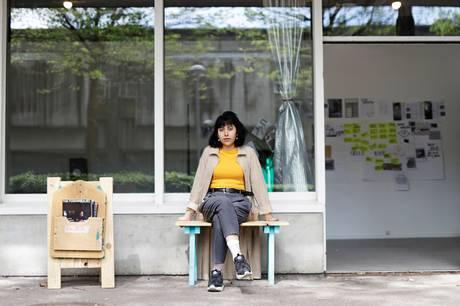 Aysha Amin er initiativ tager til Andromeda 8220 (2017) samt kunstner og korrespondent for arkitektbladet The Funambulist. Pressefoto