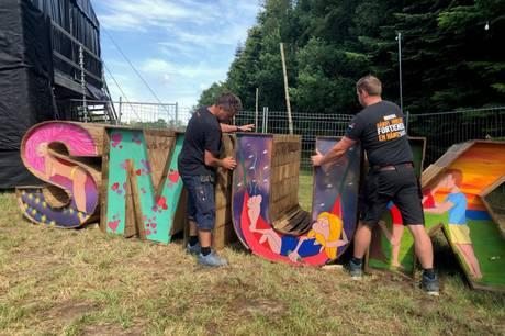 I alt 5.000 mennesker vil i denne uge kunne få en lille snas af Smukfest ved Småfesterne i Skovlunden.
