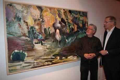 Kunstmaler og grafiker Morten Skovmand, Stenvad, er død, 80 år gammel.
