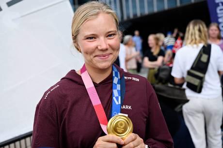OL-guldvinder Anne-Marie Rindom kommer tilbage i Aarhus på mandag til en hyldest, hvor alle er velkomne.