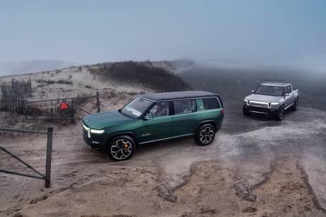 Der er især overvejelser om Storbritannien, når Rivians nye biler skal lanceres.