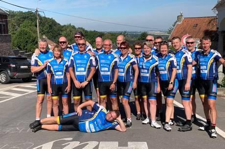 Team Rotary Favrskov springer 28. august atter på cyklen for at tilbagelægge de ca. 1000 km til byernes by Paris.