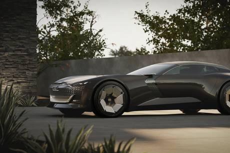 Audi har præsenteret den første af tre konceptbiler, der skal afsløre lidt af fremtidens elbiler. Den hedder Skysphere-concept og er ikke en helt almindelig Audi.