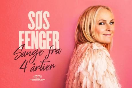 Søs Fenger synger sange fra fire årtier 28. august i Pavillonen. Pressefoto