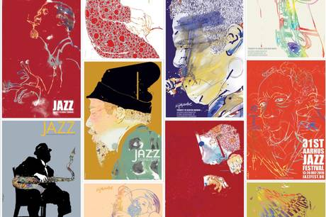Kunstner og grafiker Finn Nygaard (f. 1955) har skabt mere end 600 plakater, illustrationer og grafiske værker, siden han blev udlært.