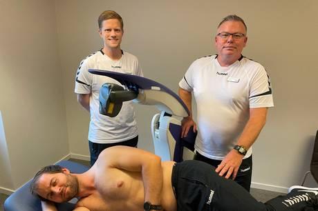 Nyt tilbud til idrætsudøvere og motionister, der vil så hurtigt som muligt tilbage efter skade