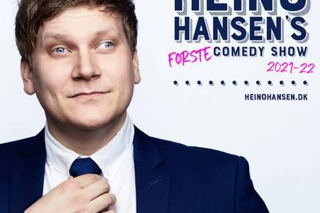 Heino Hansen er kendt af mange for hans optrædener i dansk underholdnings-tv. Nu er hans første one-man-show klar.