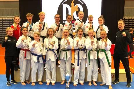 Kæmpere fra fem nationer var i aktion ved Danish Open teknik i Fælledhallen.