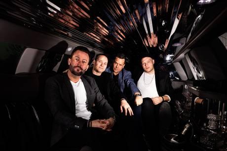 The Boyband spiller fredag 24. september i Skanderborg Kulturhus. Pressefoto