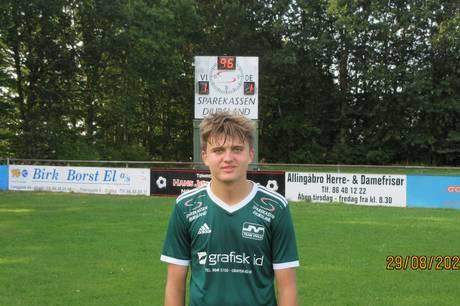 Nedrykkerne fra Serie 1 Vivild IF og Kolind-Perstrup IF spillede 1-1 i jævnbyrdigt lokalopgør.