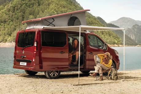 Renault klar med Trafic Space Nomad, der skal konkurrere mod bl. a. VW California.