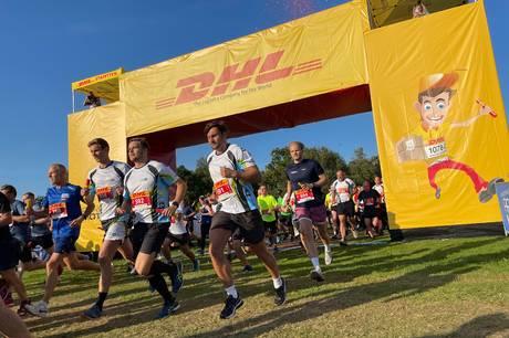 Den første af to DHL-aftener blev besøgt af 13.000 løbere i Mindeparken