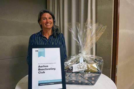 En rivende udvikling det seneste år er begrundelsen for, at Aarhus Beachvolley Club netop er blevet kåret som årets forening ved DGI Østjyllands årsmøde.