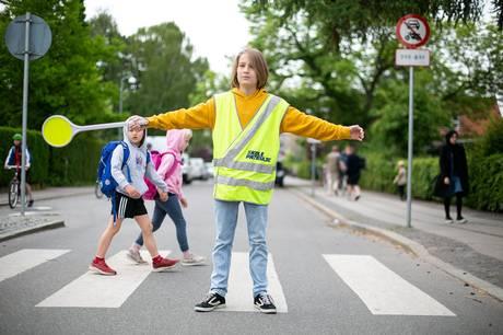 Mandag den 6. september starter den nye kampagne 'Pas godt på skolepatruljen', som skal få os alle til at vise hensyn til skolepatruljen.