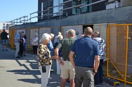Boligselskabet B45 inviterede fredag beboerne til et første smugkik i boligerne i Åbyen i Grenaa.