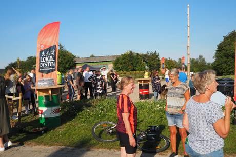 150 Vivild-borgere tog imod udfordringen med at motionere sammen i det flotte sensommervejr.