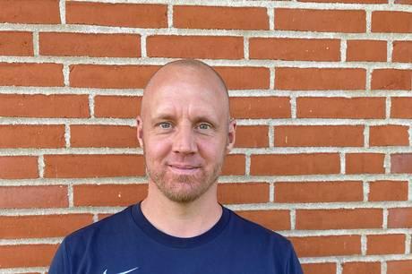 Lasse Fisker skal være med til at udvikle fodboldklubben i Hinnerup