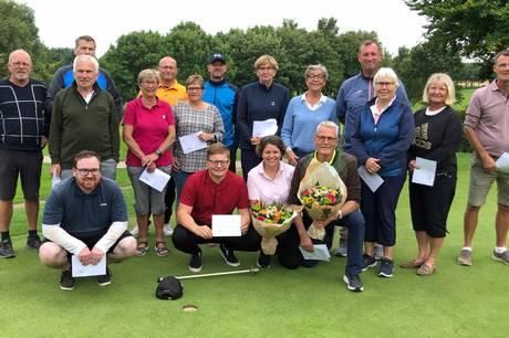 Efter i mange år at have været med helt fremme ved klubmesterskaberne i Grenaa Golfklub, lykkedes det endelig for Kim Nielsen.