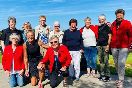 11 kvinder fejrede i weekenden, at de i 1971 i Mexico vandt fodbold-guld for Danmark.