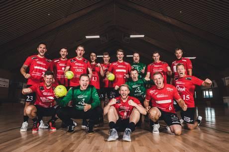 Nørre Djurs HK's bedste herrer tæller ned til sæsonstarten mod Tvis i 'Hulen' i Glesborg.