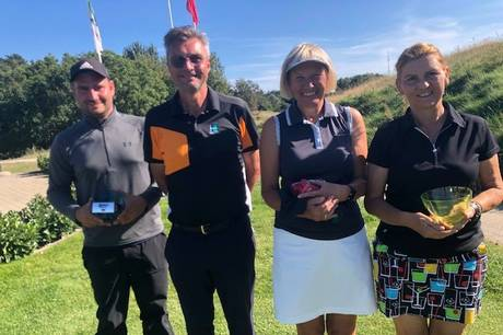 Årets fornemste turnering for medlemmerne af Ebeltoft Golf Club, klubmesterskabet, fandt sine vindere.