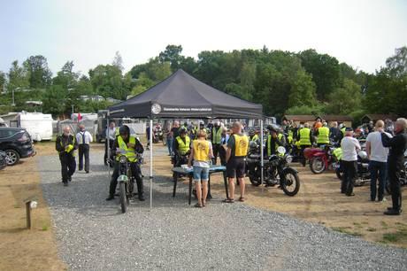 Jyllandsløbet for veteran motorcykler bliver i år afholdt i Ebeltoft.