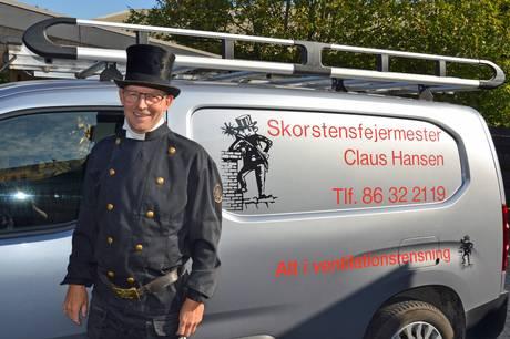 Claus Hansen købte sin gamle læreplads - har selv udlært sine tre svende.