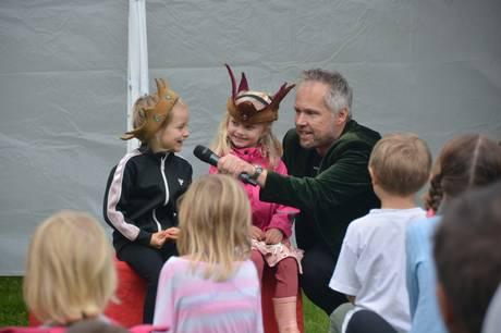 Naturbørnehaven Bakkely i Stilling fejrede i weekenden sin 25 års fødselsdag.