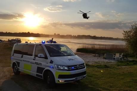 Der var sat helikopter, drone og hundepatruljer ind i kampen for at finde den ældre mand, inden det var for sent - desværre uden held.