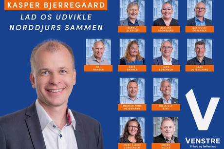 13 kandidater skal forsøge at tippe vægtskålen over til blå side efter valget.