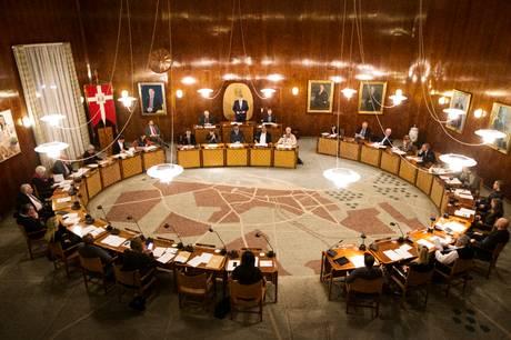 Der er kommet hele 246 budgetforslag fra byrådets partier.