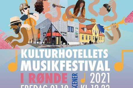 Det bliver de lokale navne, der sørger for festen, når der bliver afholdt en-dags-festival på KulturHotellet 1. oktober.