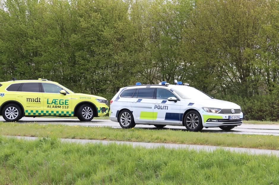 Ung kvinde sigtet efter voldsom ulykke på Skanderborgvej.