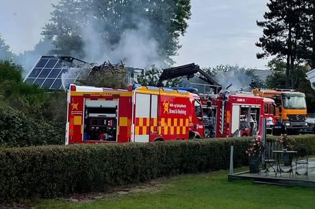 En person omkommet i morgenens brand på et bosted på Møn.