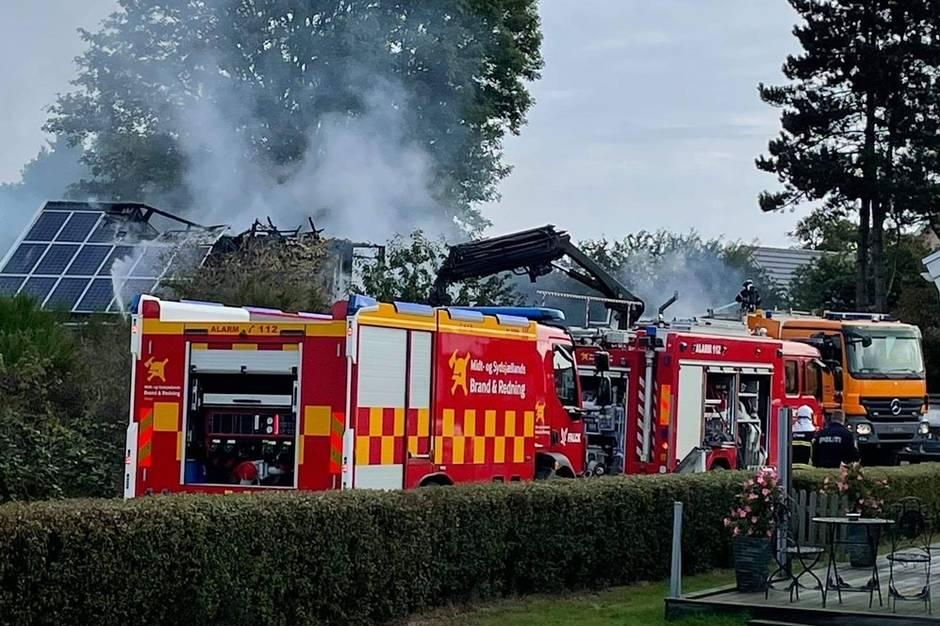 Branden på ungdomsinstitutionen på Hermodsvej i Askeby på Møn opstod i en elinstallation.