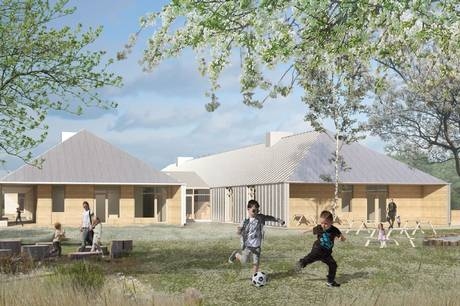I Hornslet skal Syddjurs Kommune opføre en ny daginstitution på Rodskovvej med plads til 100 børnehavebørn og 30 vuggestuebørn, men i et noget andet format end det var planen, da daginstitutionen første gang var tegnebrættet.