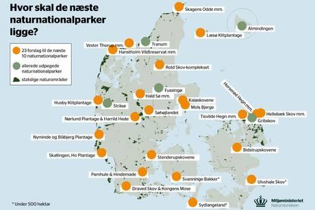 De blå partier i Syddjurs Byråd plus løsgænger Michael Mikkelsen, der repræsenterer 12 mandater, har i fælles flok skrevet til Miljøminister Lea Wermelin og gjort det klart for ministeren, at de ikke ønsker Mols Bjerge og Kaløskovene udpeges til naturnationalparker.