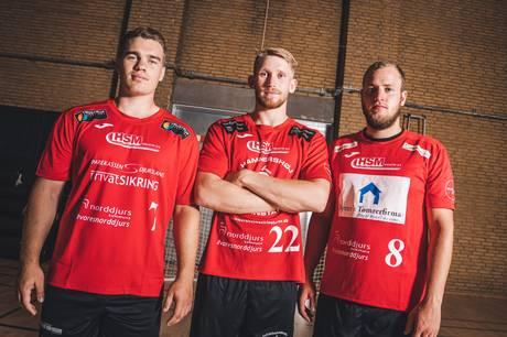 Rasmus Dalsgård Lund blev topscorer, da Nørre Djurs HK slog Tvis med 38-26 i 'Hulen' i Glesborg.
