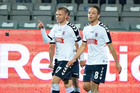 Jón Dagur Thorsteinsson blev matchvinder mod Sønderjyske og kravler op på en syvendeplads i Superligaen.