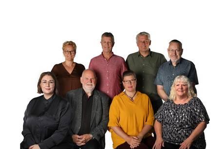 De otte SF-byrådskandidater repræsenterer hele paletten når det gælder køn, alder og geografi.