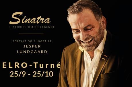 Ørsted Kro er vært ved en aften i Frank Sinatras ånd.