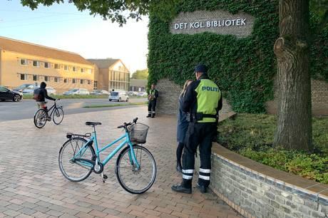 Der blev uddelt 267 sigtelser under cyklistkontrol i Aarhus.