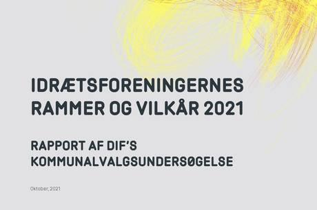 Syddjurs Kommune indtager en 87.-plads i en stor undersøgelse, hvor Danmarks Idrætsforbund (DIF) sammenligner de danske kommuner med hinanden på baggrund af idrætsforeningernes vilkår.